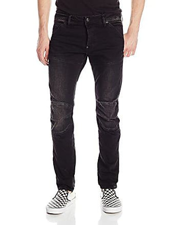 cdd26d4b90871 G-Star Raw Mens 3D Slim Fit Jean In Intor Black Stretch Denim Dark Aged