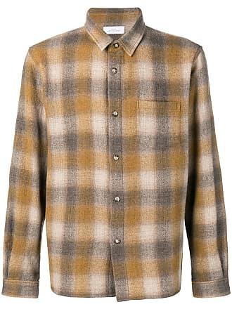John Elliott + Co checked relaxed shirt - Amarelo