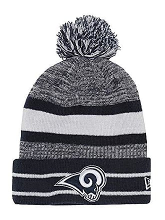 6ade315f New Era NFL Pom Knit Beanie - Los Angeles Rams (Blue) Beanies