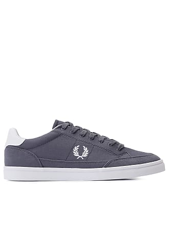 Fred Perry TÊNIS MASCULINO DEUCE CANVAS - CINZA