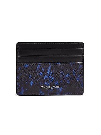 Michael kors business card holders for men browse 11 items stylight michael kors kent tall card case sapphire blue colourmoves