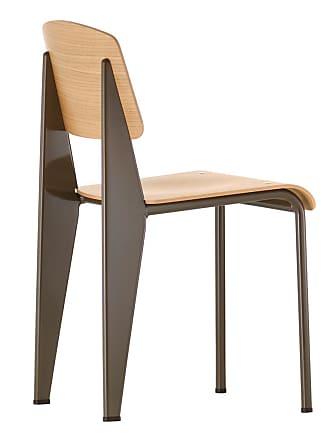 Vitra Standard Chair Chocolate & Oak