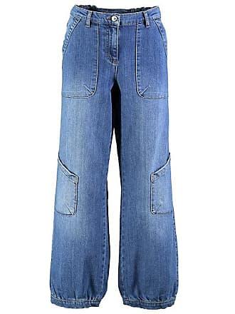 3b8b5d8b8b7d Deerberg Damen Stretch-7 8-Jeans Babette Blau - auch in Übergrößen