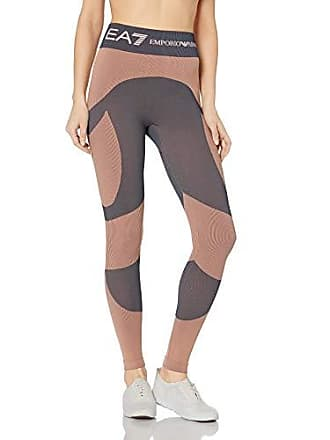 Emporio Armani EA7 Womens Train 7.0 Leggings, Evening Sand, Medium