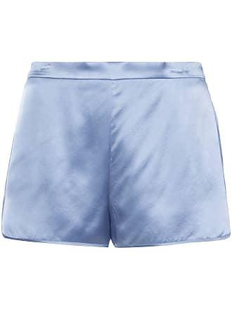 Fleur du Mal classic fitted shorts - Blue