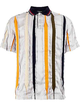 Y / Project Camisa polo mangas curtas - Cinza