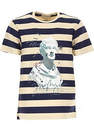 Burberry T-shirt Homme Pas cher en Soldes, Bleu, Coton, 2017, dd3fb0b181c