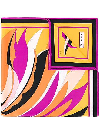 Emilio Pucci Fiore Maya print scarf - Yellow