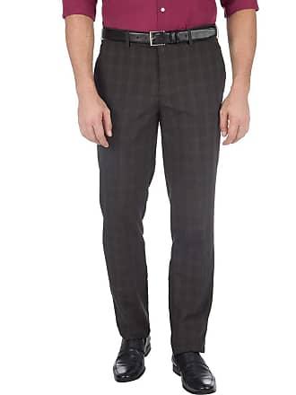 Colombo Calça Social Masculina Cinza Escuro Texturizada 43544 Colombo