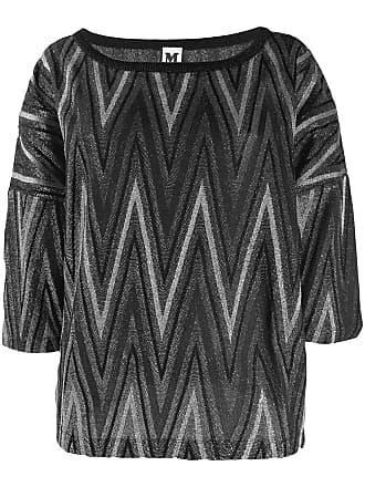 M Missoni boat neck sweater - Preto
