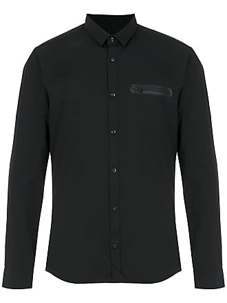 HUGO BOSS Camisa extra slim fit - Preto