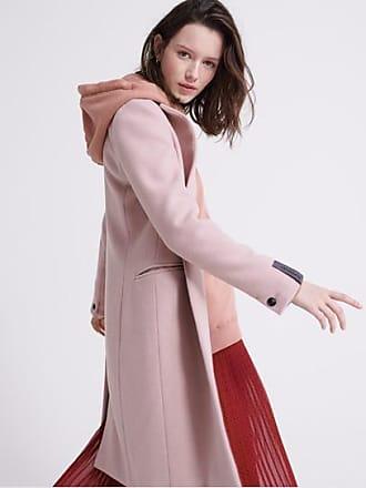 Superdry Damen Ariana Wool Coat Mantel
