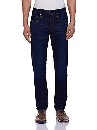 G-Star Mens 3301 Slim Fit Jean In Hydrite Blue Stretch Denim Blue Aged, Blue Aged, 29x32