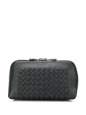 Bottega Veneta woven make up bag - Black