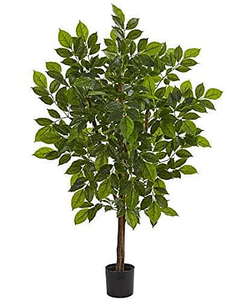 Nearly Natural 9169 4 River Birch Artificial Silk Trees Green