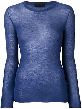 Roberto Collina fine knit jumper - Blue