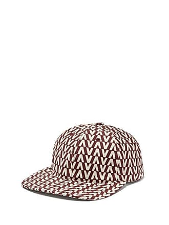 Valentino Optical Print Cotton Cap - Mens - Burgundy e517acecbfd