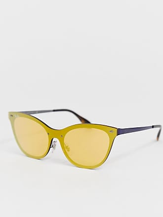 ee0c1f01bb0c Ray-Ban cat eye sunglasses with orange transparent lens - Orange