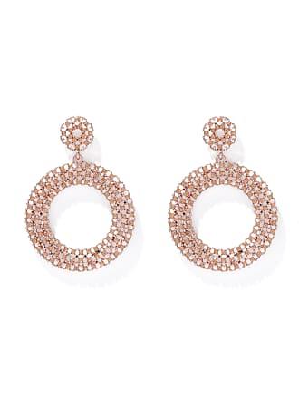 Forever New Stelle Diamante Drop Earrings - Silk - 00