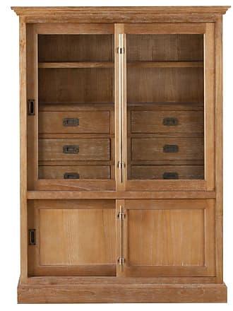 Dekoria Vitrine Chantal mit 6 Schubladen und Türen
