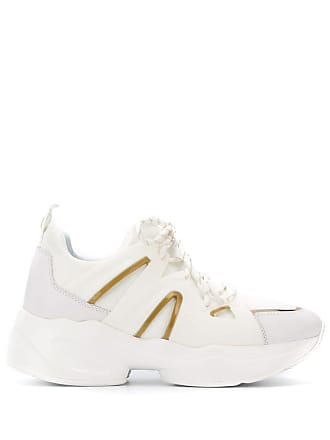 Liu Jo chunky sole panelled sneakers - White
