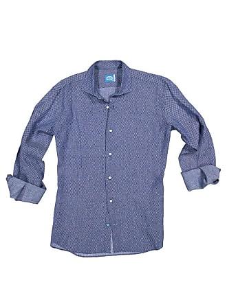 Panareha MOOREA linen flowers shirt blue