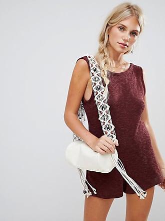 68fe8ddde8707 Zulu   Zephyr Zulu   Zephyr holiday knit beach playsuit with low scoop back  in burgundy