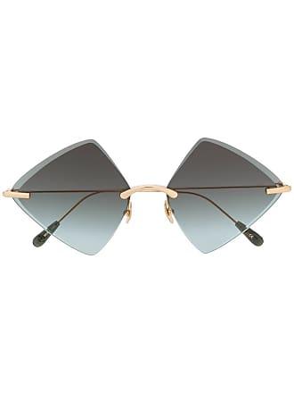 Kaleos Óculos de sol oversized - Dourado