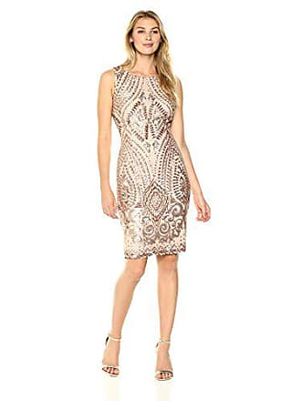 13c7d8f158c Ivanka Trump Womens Sleeveless Printed Trapeze Dress