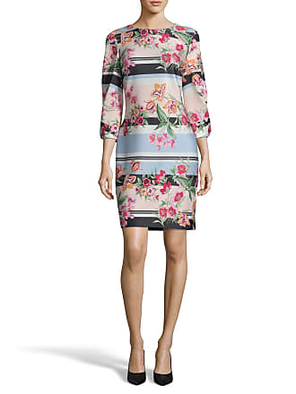 5twelve Floral 3/4-Sleeve Scuba Sheath Dress