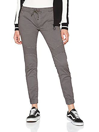 804148a01 Urban Classics Ladies Biker Jogging Pants Pantalones Deportivos, Gris (Grey  00111), 50