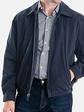London by London Fog Mens Cedar Waterproof Wool Hipster Jacket with Bib