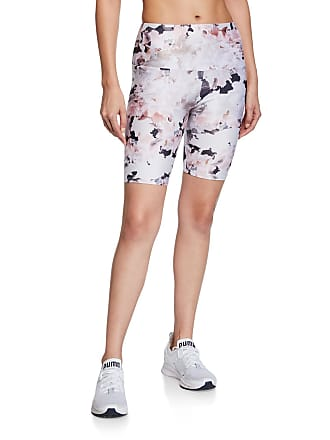 Onzie Floral-Print Bike Shorts