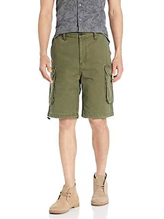0f9ff24fd8 Tommy Hilfiger Tommy Jeans Mens Cargo Shorts, Olive Night, 29