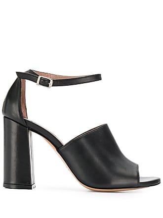 Albano peep toe sandals - Black