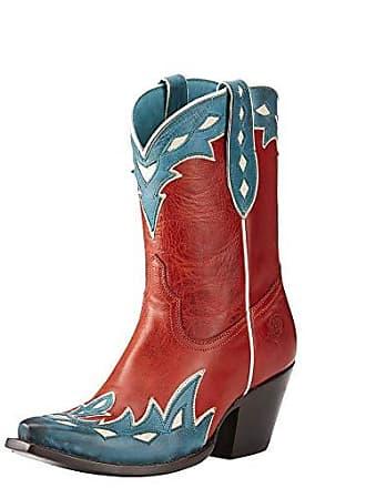 Ariat Ariat Womens Juanita Western Boot, Heart Throb Red, 5.5 B US