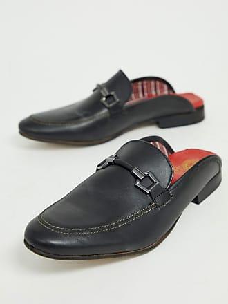 f1d9b192b51 Base London backless loafers in black - Black