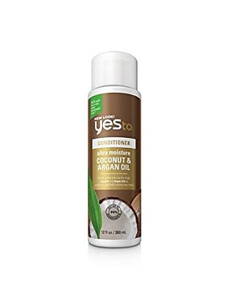 Yes To Naturals Coconut & Argan Oil Ultra Moisture Conditioner for Dry & Damaged Hair, 12 Fluid Ounce