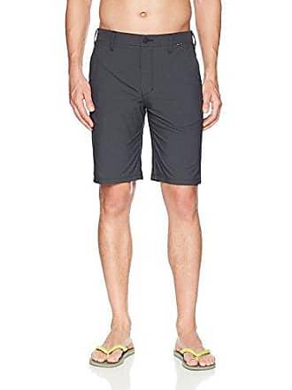 Hurley Mens Dri-Fit Chino 22 Walk Short, Black, 40