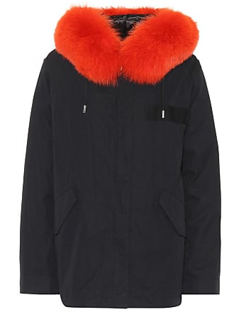 Yves Salomon - Army Fur-trimmed parka