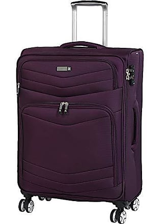 IT Luggage Intrepid 26.6 8 Wheel Spinner, Potent Purple