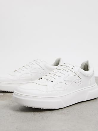 Topman chunky trainers in white