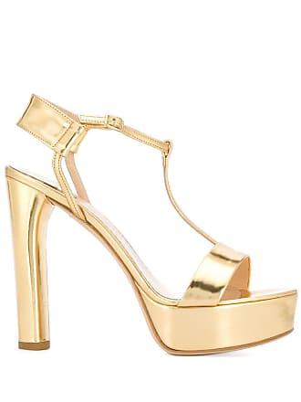 The Seller platform t-bar sandals - Dourado