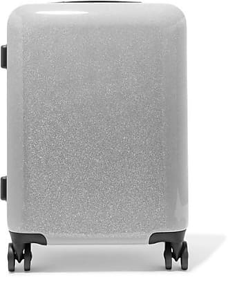 Calpak Medora Carry-on Glittered Hardshell Suitcase - Silver