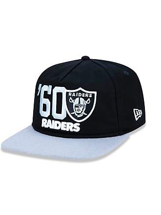 New Era Boné 950 Original Fit Oakland Raiders NFL Aba Reta Snapback New Era  - Masculino 914362eebc22b