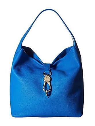Dooney & Bourke Belvedere Logo Lock Shoulder Bag (Royal Blue/Royal Blue Trim) Shoulder Handbags