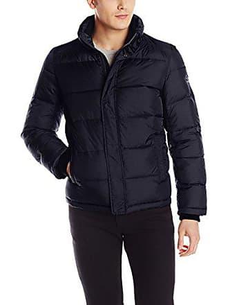 Calvin Klein Mens Puffer Jacket, Navy, XX-Large