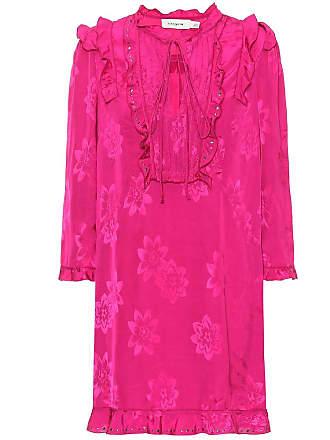 Coach Floral satin jacquard dress