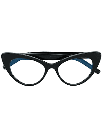 Saint Laurent Eyewear cat eye frames - Black