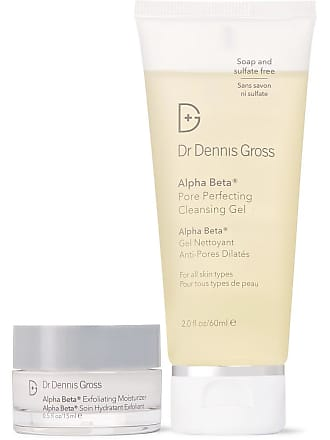 Dr. Dennis Gross Skincare The Alpha Beta Effect Cleanser And Exfoliating Moisturizer Set - Colorless